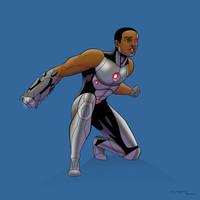 Cyborg by arunion