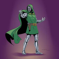 Dr. Doom 1966 (Victor Von Doom) by arunion