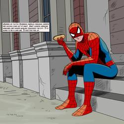 Spider-man Hotdog