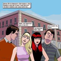 Peter Parker's friends