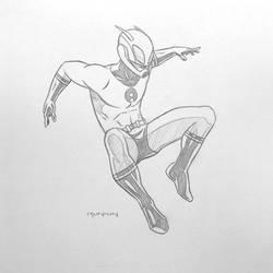 Ant-man (Hank Pym) - pencils by arunion
