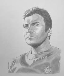 Admiral James T. Kirk - pencil
