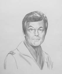 Doctor Leonard 'Bones' McCoy - pencil