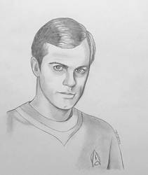 Commander Willard Decker - pencil