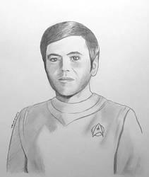 Lieutenant Pavel Chekov - pencil