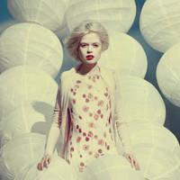 white portrait by oprisco
