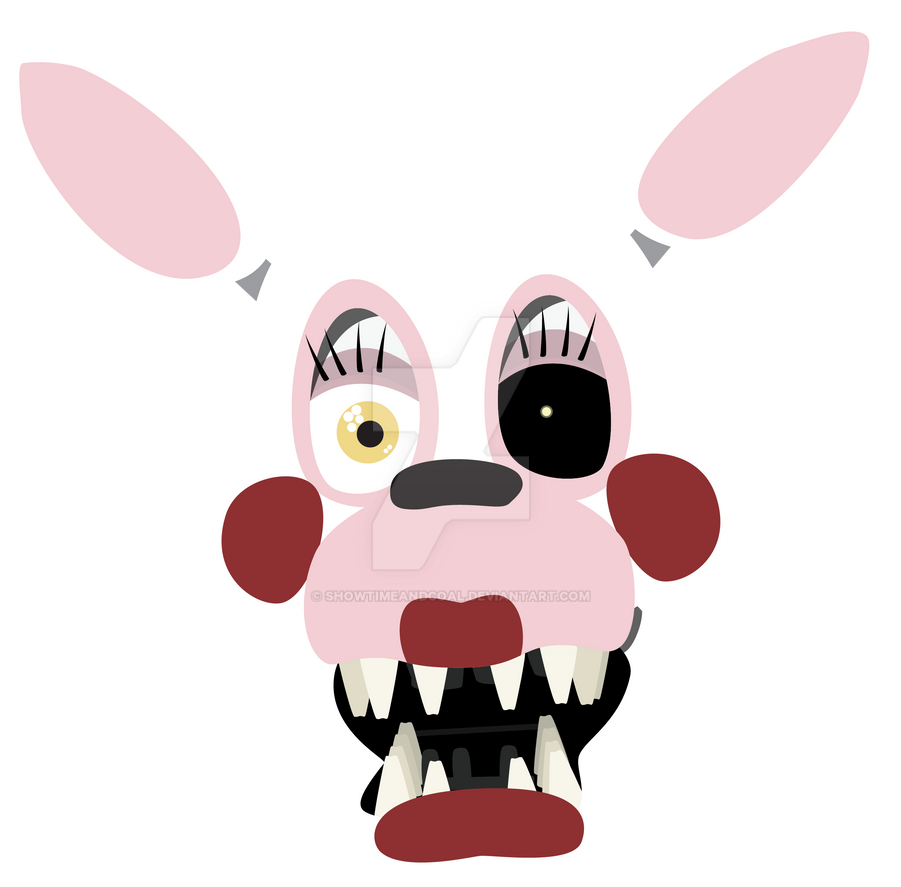Mangle by showtimeandcoal on deviantart