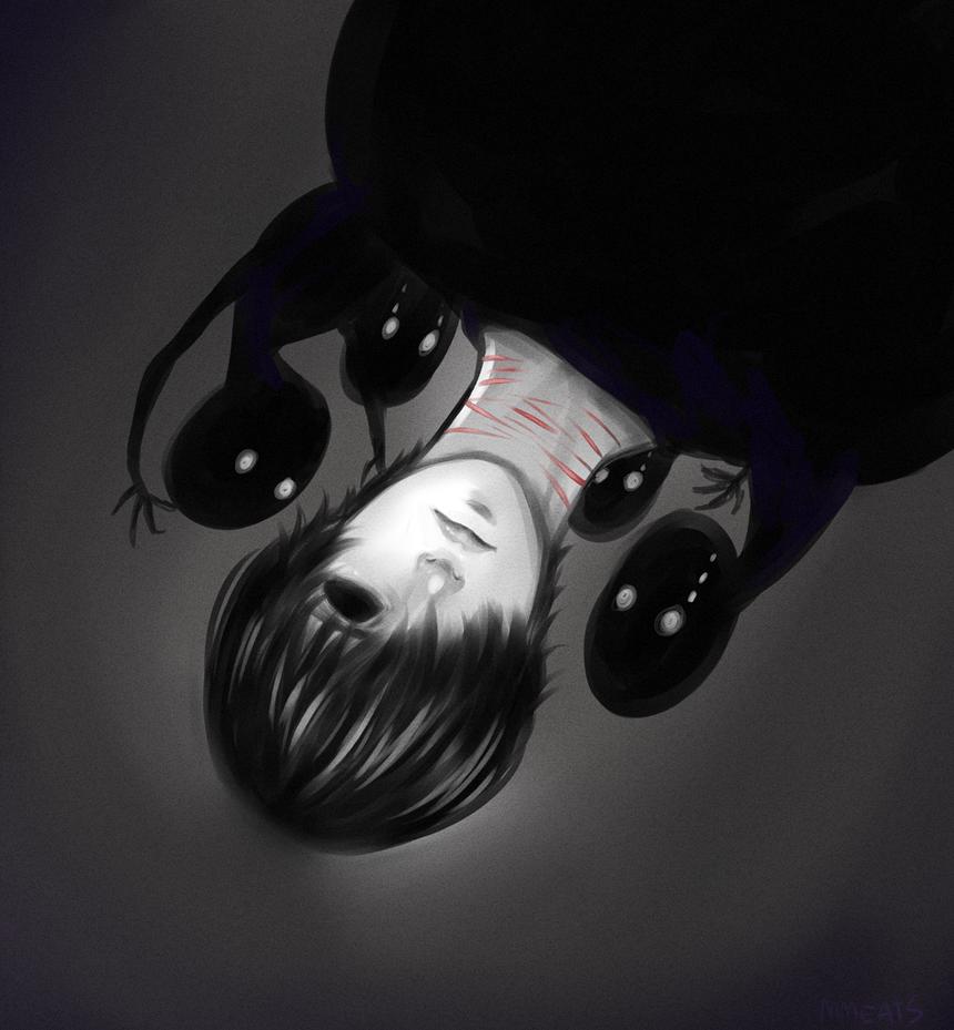 Ghost boy and little buddies by SsakiyamaM on DeviantArt