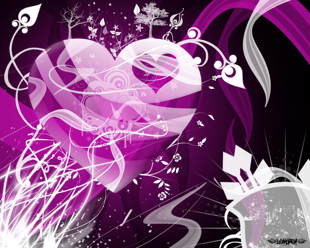 Purple Heart by LemurenSwe