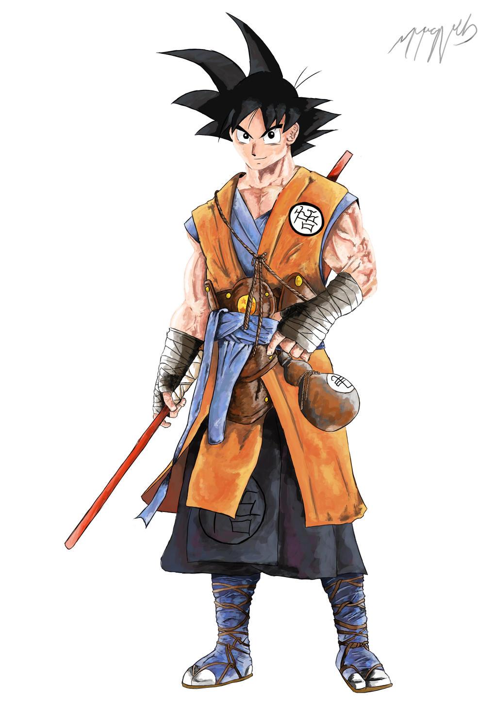 Son Goku By Shnab On Deviantart