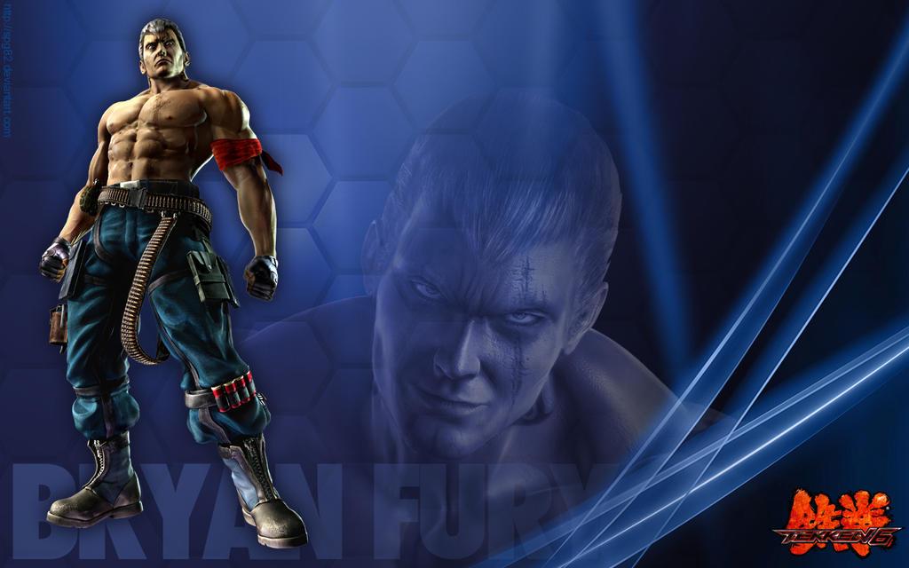 Bryan Fury Tekken 6 wallpaper