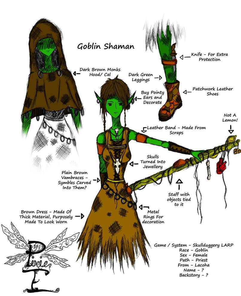 Ideas For Character Design : Goblin larp costume character design ideas by nemilavi