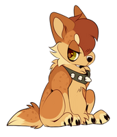 Chibi Werewolf Pup Base by tropicalnerd