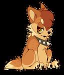 Chibi Werewolf Pup Base
