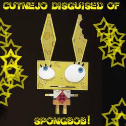 Cutnejo Disguised of Spongebob
