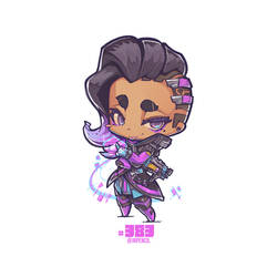 #383 Sombra from Overwatch by Jrpencil