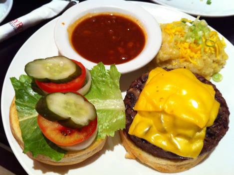 Cheese Mushroom Burger