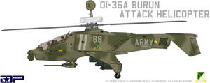 OI-36A Burun Attack Helicopter
