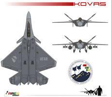 F-77A Kovas Fighter by AC710N87
