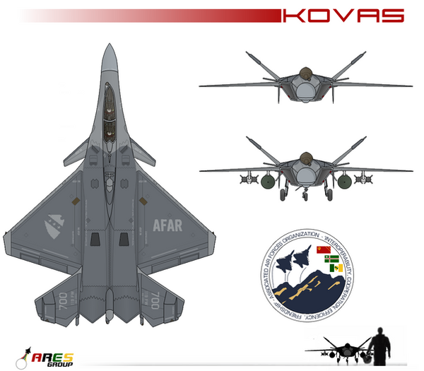 F-77A Kovas Fighter by AC710N87