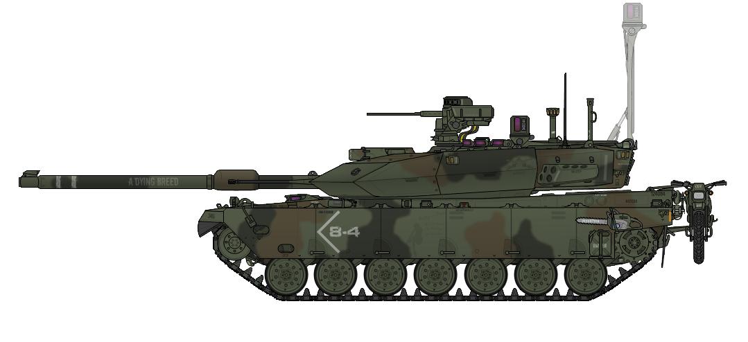 كون جيشك الخاص.... واربح 5 تقيمات  - صفحة 2 M8_Lariat_1A2_Main_Battle_Tank_by_AC710N87