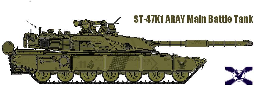 ST-47K1 Aray MBT by AC710N87