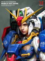 Z-Gundam Girl
