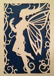 Paper-cut faerie 1
