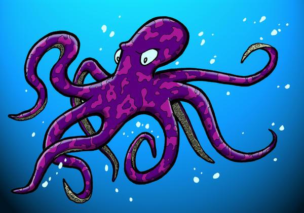 Octopus by SethWolfshorndl
