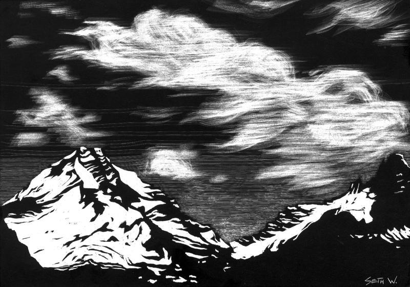 Mountain Clouds by SethWolfshorndl