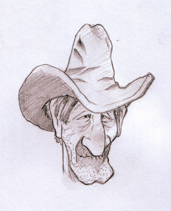 Carved Cowboy by SethWolfshorndl