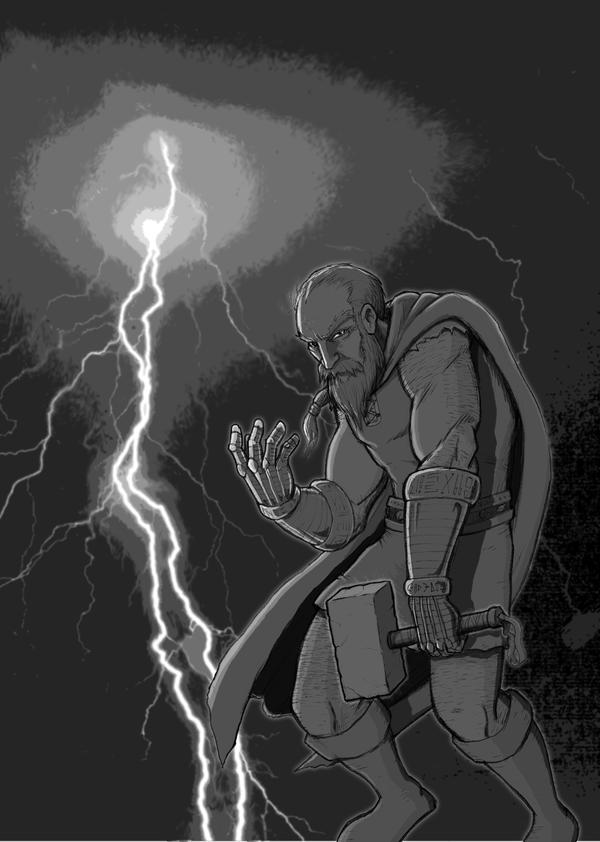 Thor by SethWolfshorndl