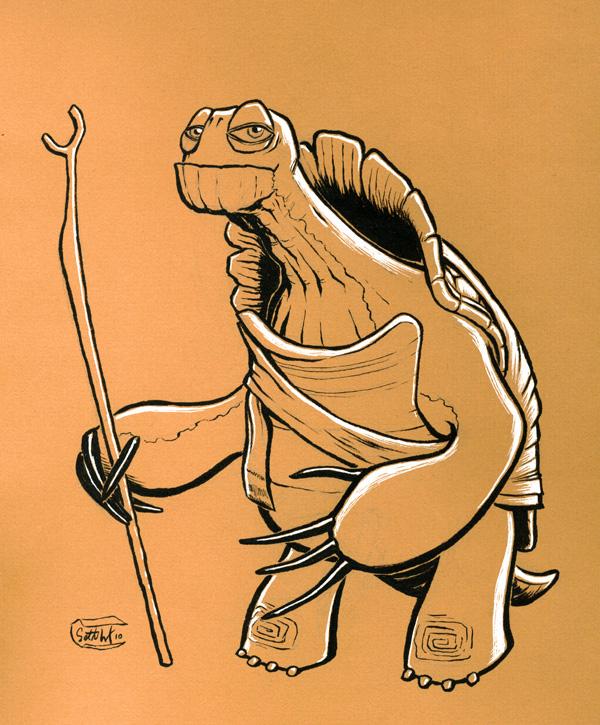 Master Oogway by SethWolfshorndl