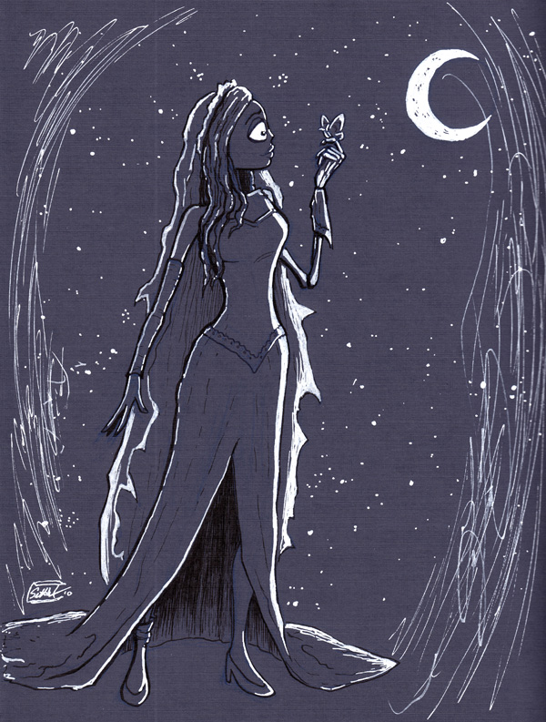 The Corpse Bride by SethWolfshorndl