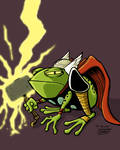Frog Thor colored