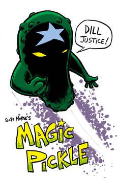 Magic Pickle colored