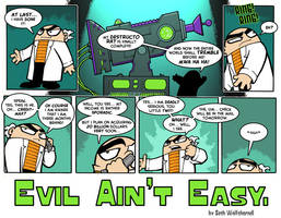 'Evil Ain't Easy' page 1