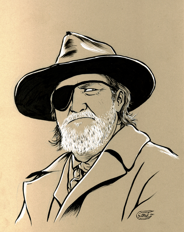 Rooster Cogburn by SethWolfshorndl