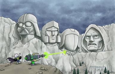 The Mt. Rushmore of Evil