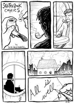 Sketchbook comic