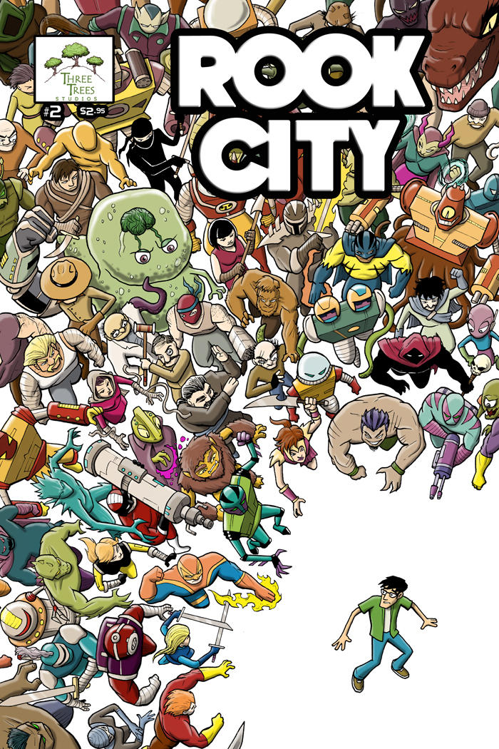 ROOK CITY #2 cover