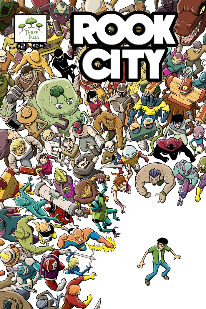 ROOK CITY #2 cover by SethWolfshorndl