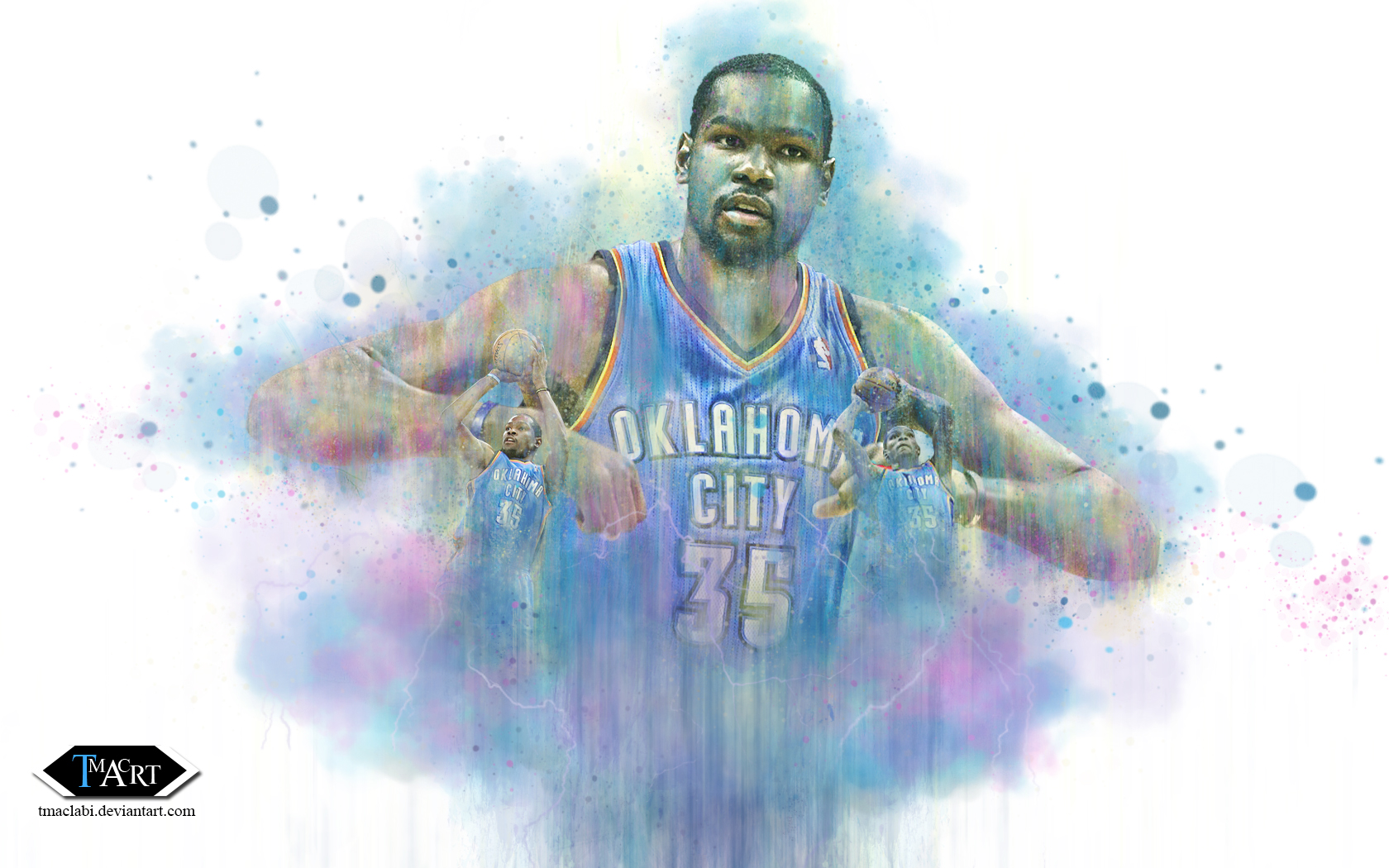 Kevin Durant Ascending Wallpaper by tmaclabi Kevin Durant Ascending Wallpaper by tmaclabi