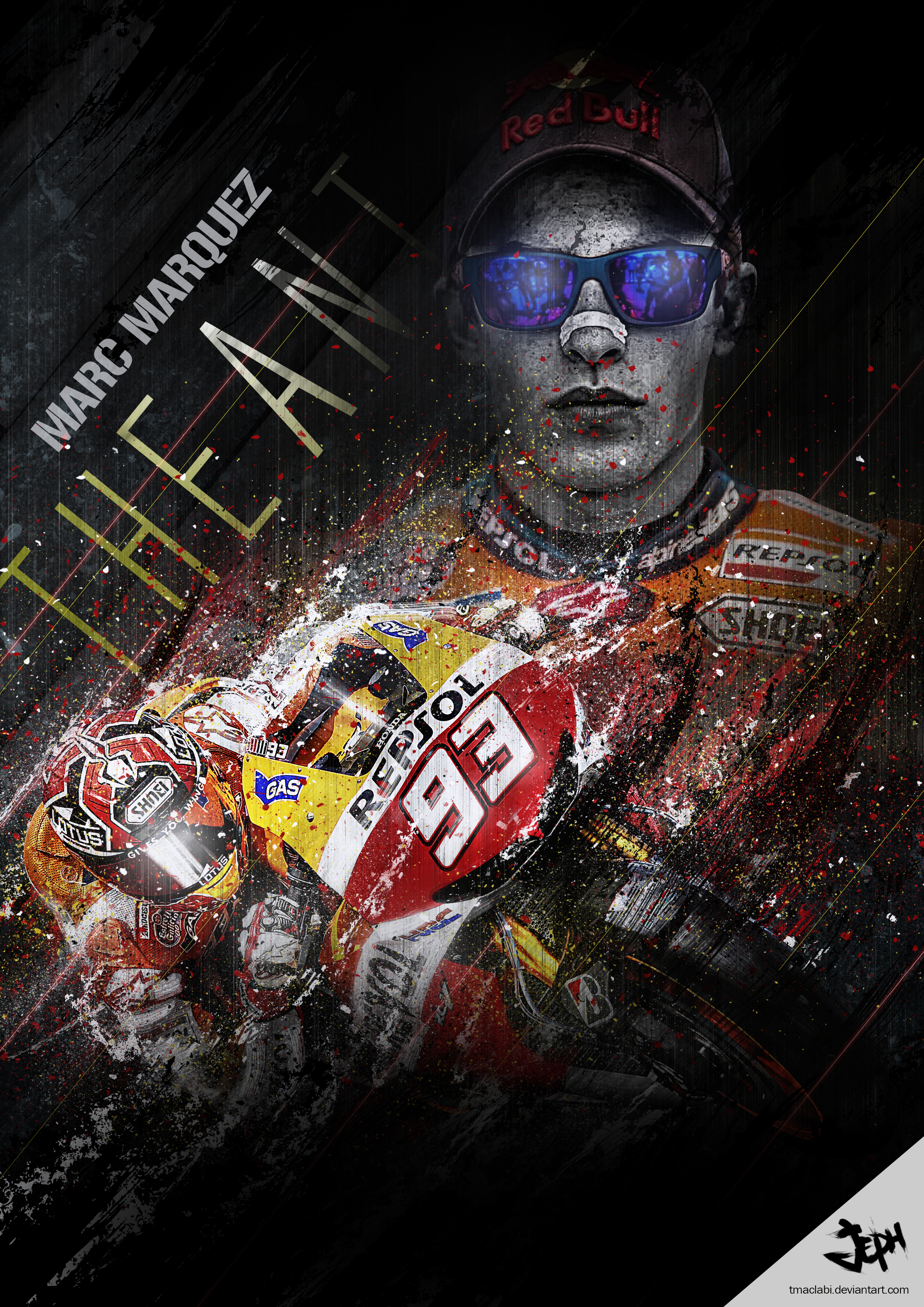 Marquez moto gp the ant by tmaclabi on deviantart marc marquez moto gp the ant by tmaclabi voltagebd Images