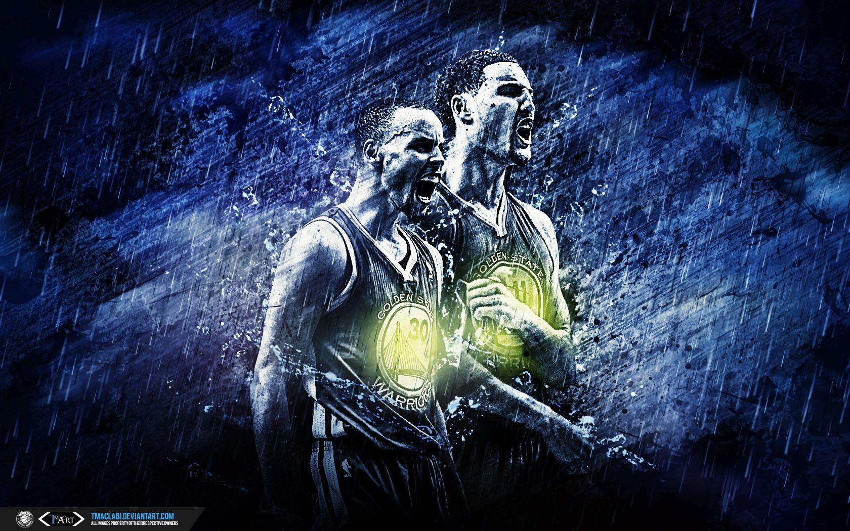 Download Wallpaper Logo Golden State Warriors - golden_state_warriors_splash_brothers_wallpaper_by_tmaclabi-d87c4uw  Photograph_439545.jpg