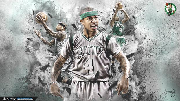 IT Shattered Wallpaper Celtics B