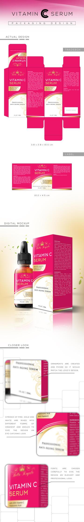Vitamin C Serum Packaging Design by tmaclabi