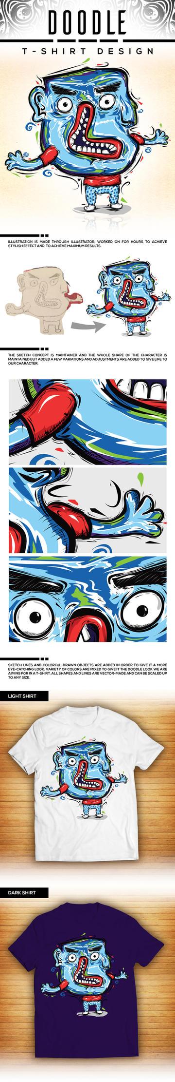 Doodle Shirt Design by tmaclabi