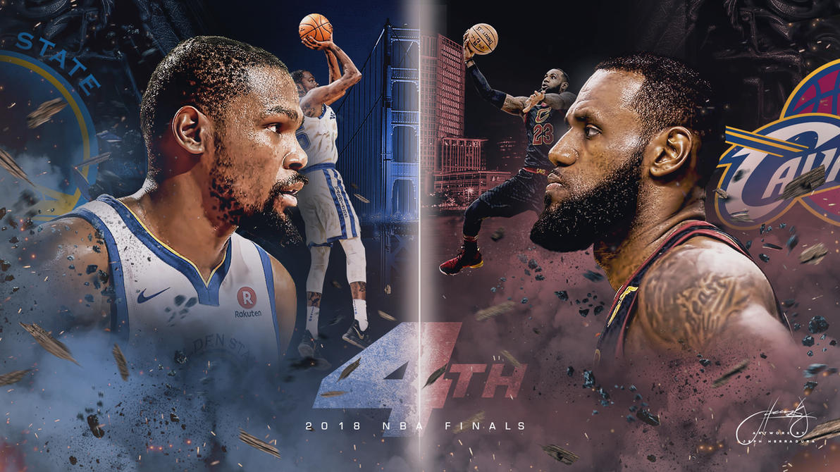 NBA Finals 2018 Wallpaper by tmaclabi