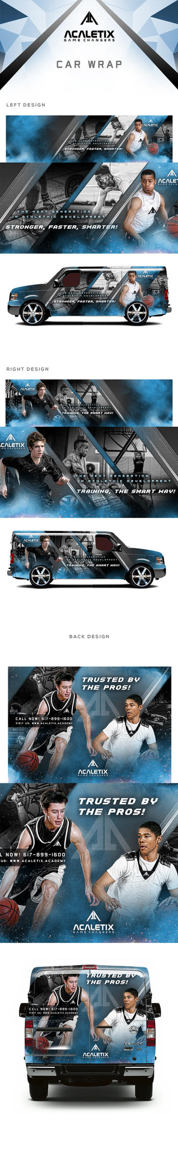 Acaletix Van Wrap Design by tmaclabi